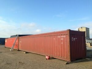 Custom 80 Ft 2 X 40 Ft Open Top Shipping Container