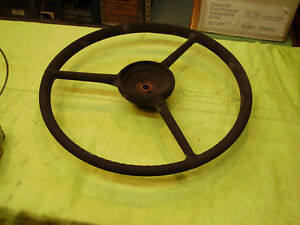 1937 38 115 120 Packard Standard Steering Wheel