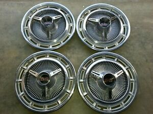 1965 1966 Chevy Impala Ss Hubcaps 67 68 69