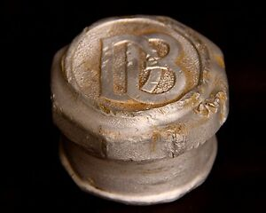 Vintage Dodge Brothers Screw On Hub Cap Db 2 1 2 Inch Opening