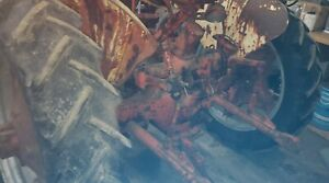 Case Vac Tractor Rear 11 2x34 Tires And Rims Vac14