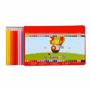 Coloring Pencil Set Children Pencils Color Drawing Pencils Wood 30 Pieces