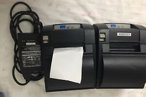 Lot Of 2 Citizen Ct s310a Thermal Receipt Printer Systems Pos Line