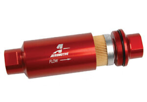 Aeromotive 12301 In Line Filter 10 Micron Fabric Element Orb 10 High Flow