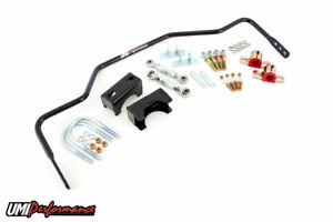 Umi 78 88 Gm G Body 3 4 Solid Rear Chassis Sway Bar Black 2 75