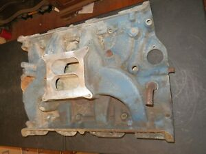 1967 Ford Fe Big Block 390 427 Fact Aluminum 4 Bbl Intake Manifold Police Int