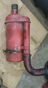 Massey Harris 44 Diesel Tractor Air Cleaner Canister And Hose Mh Parts 33