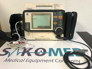 Lifepak 12 12 lead Biphasic Pace Analyze Etco2 Sp02 Nibp Tested