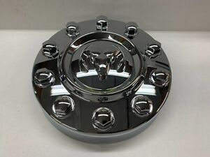 10 18 Dodge Ram 4500 5500 Chrome Front Wheel Center Cap Cover Cab Chassis Oem