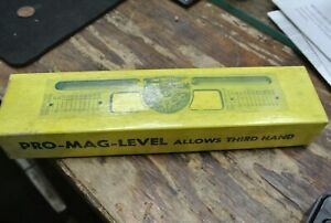 Curv o mark Pro Mag Level Strong Magnet Stock No 8 Allows Third Hand