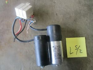 Used 2 Ducati Motor Starters Relay For Ultra 2 Bunn o matic Frozen Drink Machine