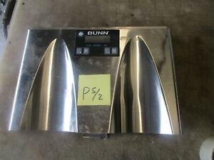 Used Front Push Panel Assy For Ultra 2 Bunn o matic Frozen Drink Machine