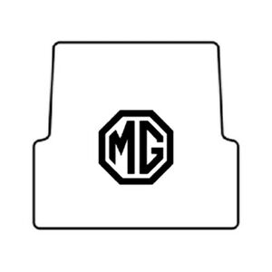 Trunk Floor Mat Cover For 55 62 Mg Mg A High Definition Rubber W Mg 01 Mg Logo