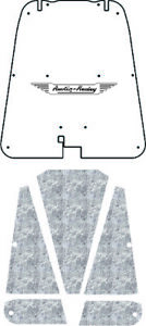 Hood Insulation Pad Cover For 1952 56 Austin Healey Acoustihood With Ah 05 Wing