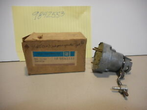 71 Chevy Buick Olds Station Wagon Tail Gate Elec Window Lock Rel Switch Nos