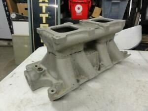 Vintage Weiand Tunnel Ram 2x4 Intake Manifold Ford Boss 302 Nice