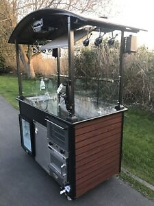 Proclaim Promotions Food Cart Kiosk Trade Show Booth Store Samples Coffee Stand