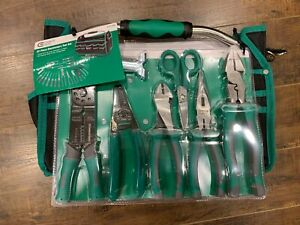 New Commercial Electric 973646 22 Pc Hand Tool Set Kit Screwdriver Pliers Bag