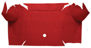 Trunk Mat For 67 68 Ford Mustang Convertible Trunk Kit Floor Only Loop