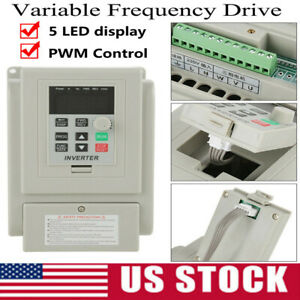 2 2kw Variable Frequency Drive Inverter Vfd Cnc Motor Speed Single To 3 Phase Us