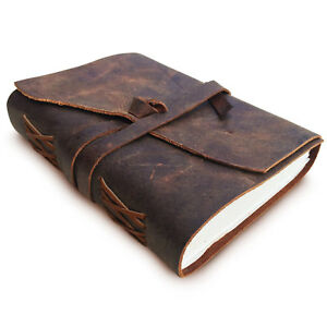 Leather Journal Notebook Diary Handmade Vintage Blank Writing Book Sketchbook