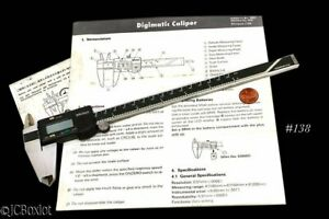 Mitutoyo 8 Digital Caliper 500 138 Digimatic W Extra Battery