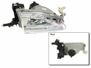 Right Headlight Assembly F495sh For Toyota Corolla 1999 2000 1998