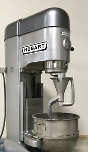 Hobart M 802 80 Qt Quart Mixer 3 Phase Bowl And Dough Hook Included Very Clean