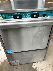 Jet tech F 16dp High Temp Dishwasher Commercial Washing Machine Used F 16 Dp