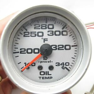 Pricol Full Sweep Oil Temperature Gauge Nice
