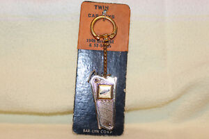 1949 51 53 55 Chrysler Folding Twin Key Blank Key Chain