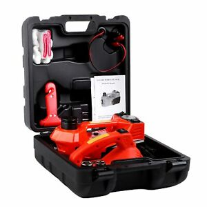 3 In 1 12v Dc 3t Electric Hydraulic Floor Jack Lift 6600 Lbs Car Use Wrench