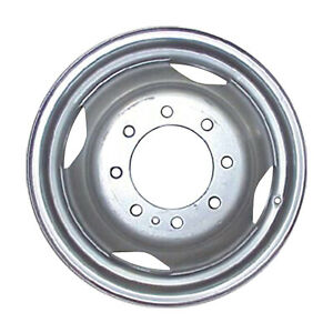 16 X 6 4 Vent Direct Fit Aftermarket Replacement For Dodge Steel Wheel Silver