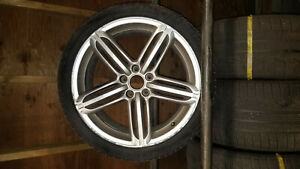 Audi A4 S4 19 2011 Factory Oem Wheel Rim With Tire Set Of 4