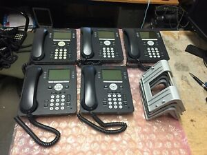 5 X Avaya 9608 Ip Business Phones Voip Office Telephone System Lot Of 5