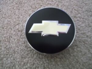 Chevy Bow Tie Black Yellow Emblem Badge Logo Steering Wheel Horn Cover 2 1 4