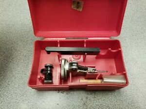 Interapid 312b 2v Test Dial Indicator Gage With Case Extra Tips Instructions