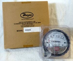 Dwyer Magnehelic 2002 0 2 And Dwyer Air Filter Accessory Package Gauges Kit A 60
