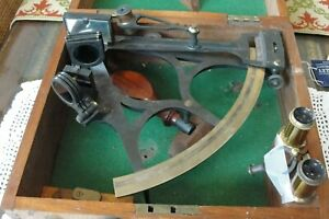 Antique Nautical W R William Newport Sextant