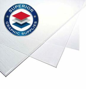 Polycarbonate Plastic Sheet 60 Mil Thick clear Gloss 10 Sheets 12 X 24