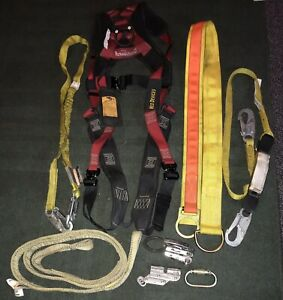 Miller Rope Grab Safety Harness Lanyard Anchorage Connector More