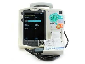 Philips Heartstart Mrx Aed Defibrillator Monitor M3535a Therapy Cable Ac 1