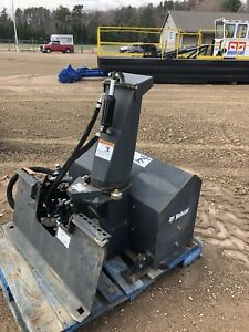 2014 Bobcat Snow Blower Attachment Model Sb150 X 36 Mini Skid Steer Tool Cat