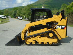 2015 Cat 259d Rubber Track Compact Skid Steer Loader