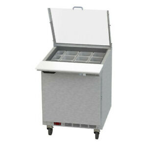 Beverage Air Spe27hc 12m cl Elite Clear Lid Mega Top Refrigerated Counter