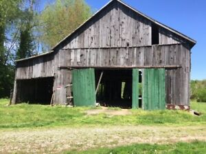 Barn For Sale Siding Framing All Salvagable
