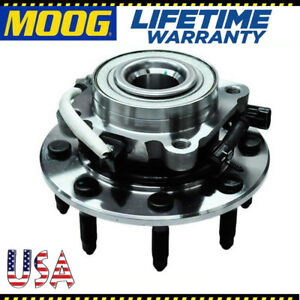 Moog Front Wheel Hub And Bearing Assembly For Chevy Gmc 4x4 Abs 515058