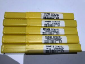 Morse Chucking Reamers Brand New set Of 5 9 32 Reamers