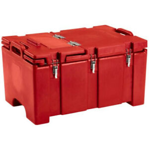 Cambro 100mpchl158 Full Size Pan Capacity Camcarrier Food Carrier hot Red