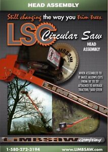 Limbsaw Co Hydraulic Tractor Attachment Circular Saw